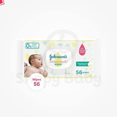 Johnson/'s Gentle All Over Wipes 56 Wipes